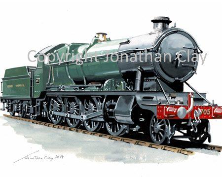 951 GWR 47XX 2-8-0 No. 4705