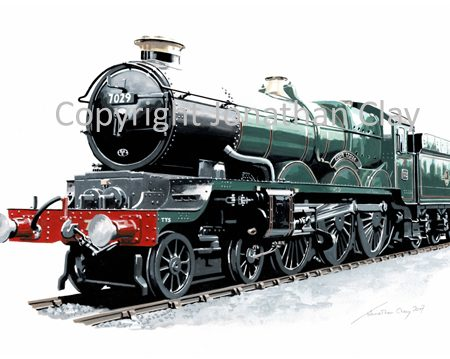 952 GWR Castle 4-6-0 No.7029 'Clun Castle'