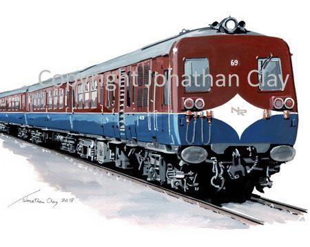 958 NIR class 80 DMU