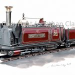 433 Festioniog Railway George England Loco 'Mountaineer (red)