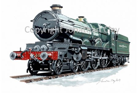 966 GWR Castle 4-6-0 No.4079 'Pendennis Castle'