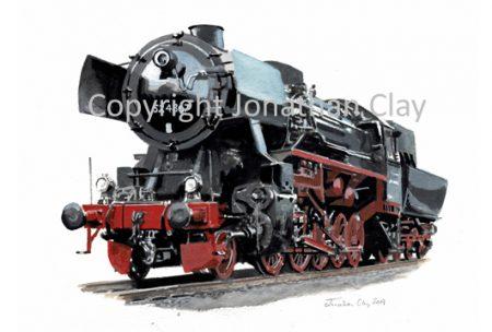968 DB Kriegslok 2-10-0 No.52 4867