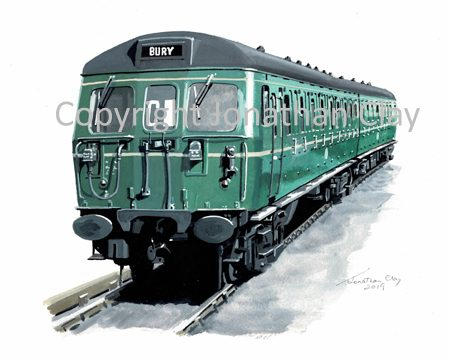 973 BR Bury-Altrincham Class 504 EMU