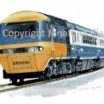 978 BR Inter City HST No. 253 001