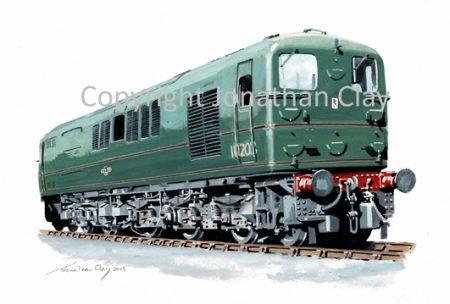 979 Prototype 1-Co-co-1 diesel No.10203