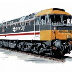 980 Class 47 No. 47 406 'Rail Riders'