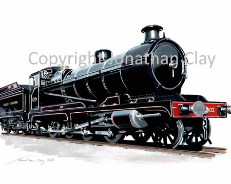 982 Great Central Railway Class 8K 2-8-0
