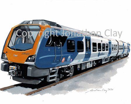 988 Northern Rail Class 195 DMU No.195 001