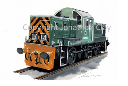 990 BR Class 14 0-6-0DH No. D9522