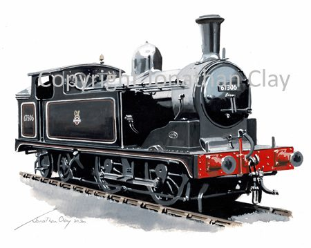 992 Class G5 0-4-4T No.67306