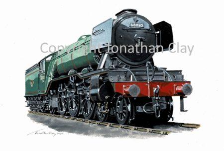 1002 A3 Class 4-6-2 No.60082 Neil Gow