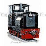 444 Welshpool & Llanfair Rly Drewry diesel No.7 Chattenden