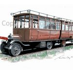 1006 Ford Model T Railcar Set - Colonel Stephens