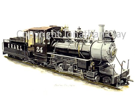 011 Cleethorpes Sandy River 2-6-2 No.24 (A)