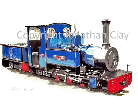 041 Exbury Gardens Railway  'Rosemary'