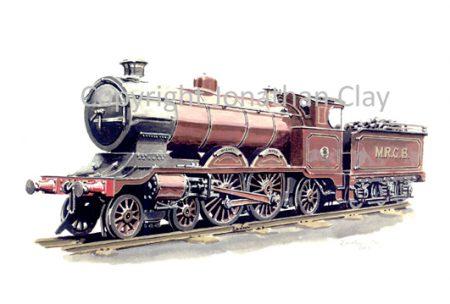 048 Bassett-Lowke Class 10 4-4-2  Mighty Atom
