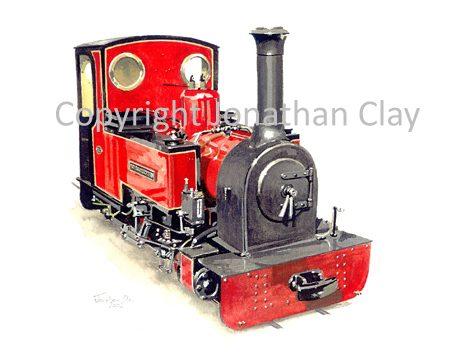 050 Difflin Lake Railway (Ireland) Duchess of Difflin