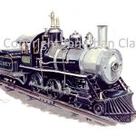 057 Rhyl Miniature Railway Cagney 4-4-0 No.44