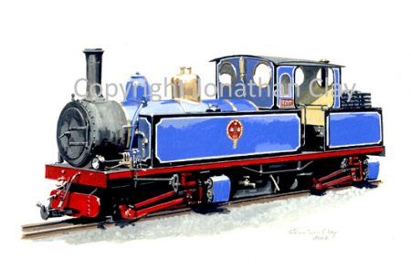 059 0-4-4-0T Articulated locomotive Hawk