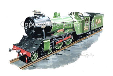 073 Kerrs Miniature Railway Steam outline 4-4-0 'Auld Reekie'