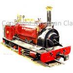 111 Launceston Steam Railway ex. Dinorwic Quarries 0-4-0ST Velinheli