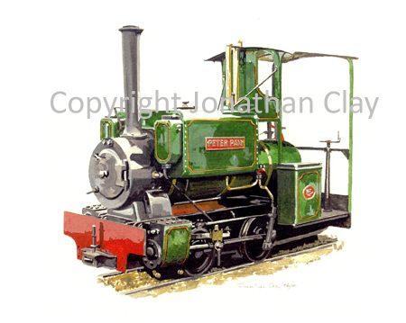 123 Wren Class 0-4-0ST Peter Pan