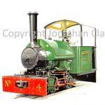 138 Bredgar and Wormshill Railway Bagnall 0-4-0ST Armistice