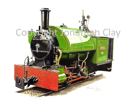 141 Amerton Railway Bagnall 0-4-0ST Isabel