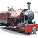 144 Amberley Museum Bagnall 0-4-0ST Peter