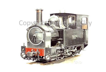 150 Beyer Peacock 0-6-0T No.822 The Earl