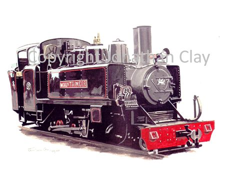 156 Alco 2-6-2T Mountaineer (Black)