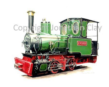 163 Bredhgar and Wormshill Railway 0-4-0T Eigiau