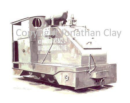 177 Kerr Stuart Prototype 0-6-0 diesel loco No.4415