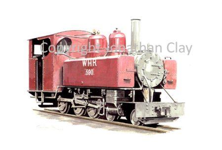 180 Baldwin 4-6-0T No.590 (Red)