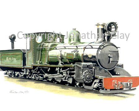 186 DHR Class C 4-6-2 No.37