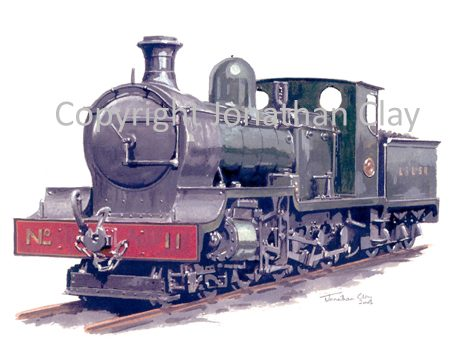 206 ILondonderry and Lough Swilly Railway 4-8-0 No.11