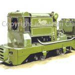 216 Ruston 3340hp 4W locomotive