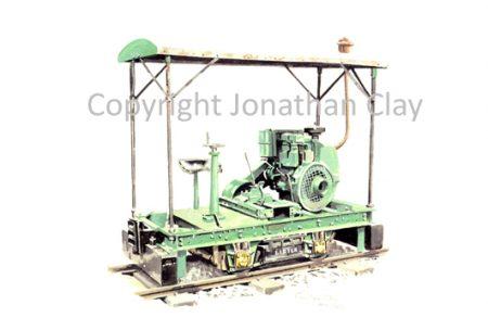 217 4W Covered Lister Petrol locomotive
