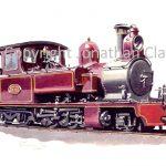 222 Kitson 2-6-4T E R Calthrop (NSR livery)