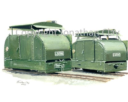 227 'Twin Turtles' 40hp Protrcted Simplex locomotives