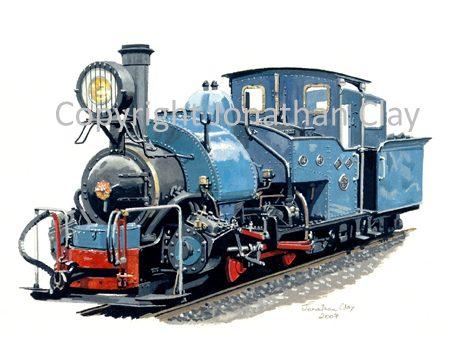 262 DHR Class B 0-4-0ST No.19 (Beeches Light Railway)