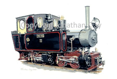 264 Statfold Barn Railway Mallet Pakis Baru No.5
