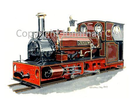 268 Hollycombe Woodland Railway ex. Dinorwic Quarries 0-4-0ST Jerry M