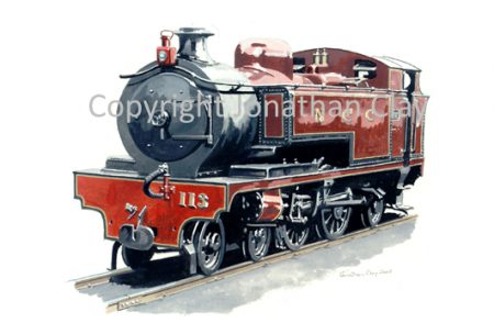 270 Ballyastle-Larne Kitson 4-4-2T No.113
