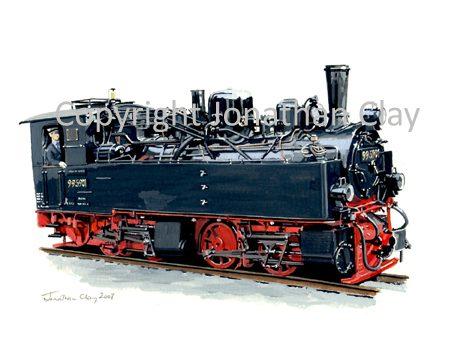 274 Harz Railway 0-4-4-0T Mallet No.99 5901
