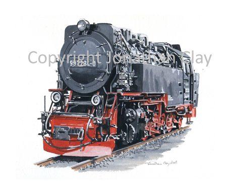 284 Harz  Railway 2-10-2T No.99 7234-0