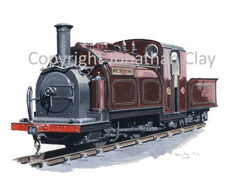 287 George England 0-4-0ST+T No.5 Welsh Pony (Maroon)