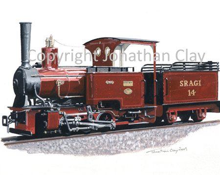 288 Statfold Barn Railway  Orenstein & Koppel 0-6-0T+T 'Max'