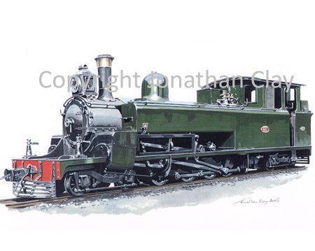 297 Cyprus Govt. Railways Kitson 4-8-4T No.43