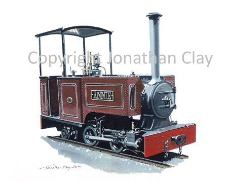 307 Groudle Glen Bagnall 0-4-2T 'Annie'